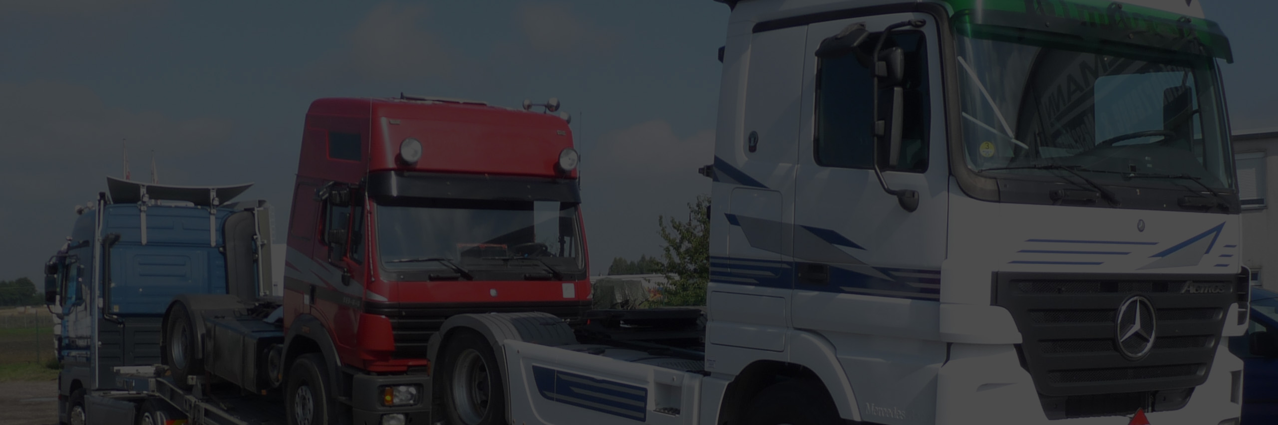 Vermietung von Nutzfahrzeugen und Baumaschinen